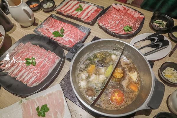 健康主義|CP值爆表想一直再訪的平價壽喜燒吃到飽/和牛、野菜、無毒蝦/SOGO威尼斯美食