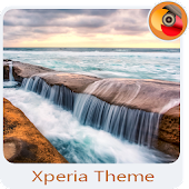 pacific ocean | Xperia™ Theme - rounded corners
