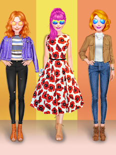 Teenage Fashion Girl Salon - náhled