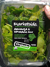 Photo: It was MUCH cheaper to buy this Organic Arugula & Spinach mix!! I opted for this one since it was quicker and easier!
