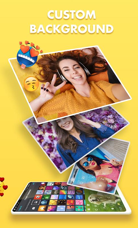 Funtype Emoji Keyboard: GIF, Emoji, Keyboard Theme screenshots