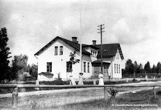 Photo: Skolan omkring år 1900