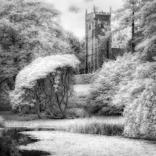 Photo: Church & Lake, Arlington Court, Deveon (UK)  (Clive Haynes)