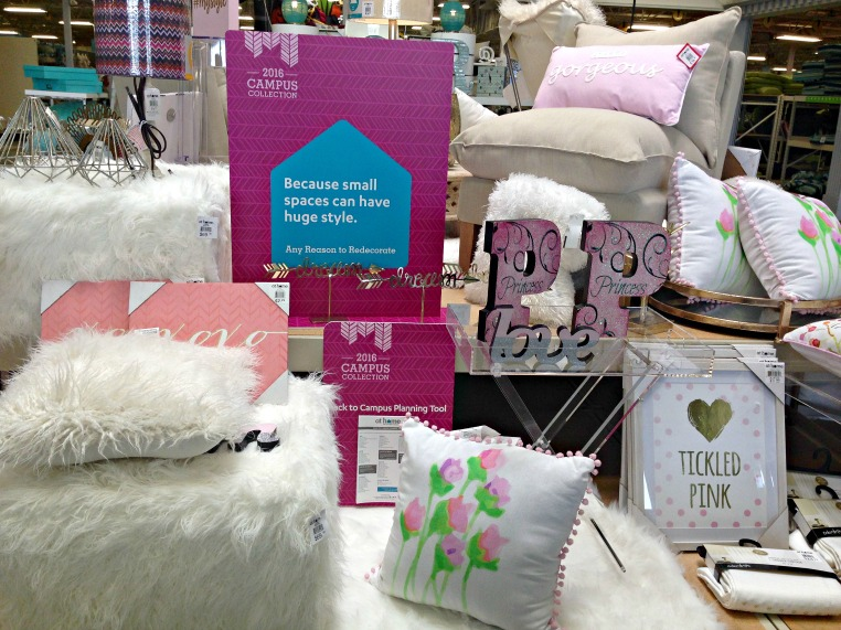 The 2016 Campus Collection from At Home Stores has everything from decor to storage to bedding