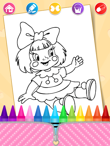 Lol Dolls Coloring Book, Lols & Dresses screenshot 6