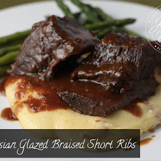 Asian Glazed Braised Short Ribs