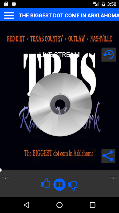 TBJS Radio Network- screenshot