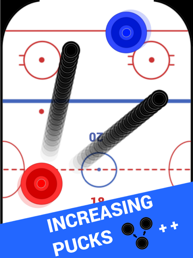 Air Hockey 2P- screenshot