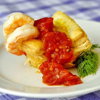 Shrimp Cocktail Quiche.