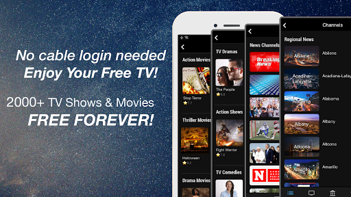 FREECABLE TV App: Free TV Shows, Free Movies, News 6.97 screenshots 1