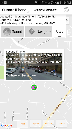 Find iPhone, Android Devices, xfi Locator Lite screenshot 8
