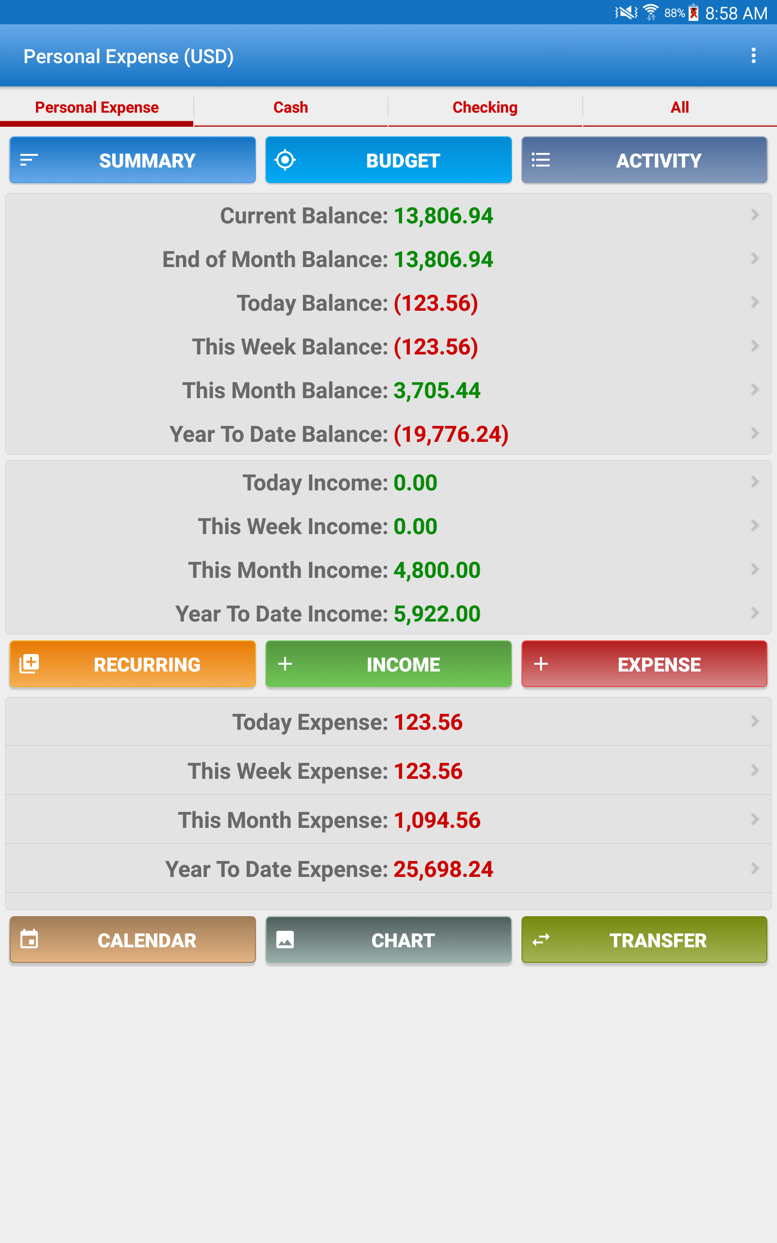 Expense Manager screenshot #9