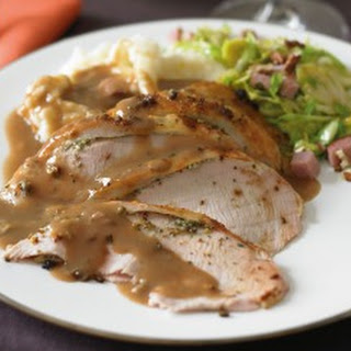 Roast Turkey with Lemon, Sage, and Garlicand Giblet Gravy