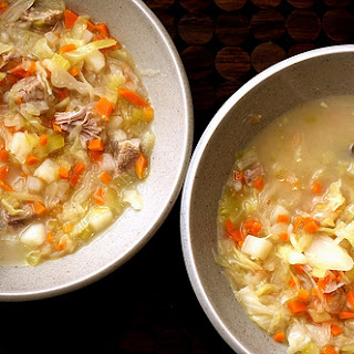 Veselka's Cabbage Soup.
