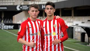 Sergio Sanchís y Mario Mañas.
