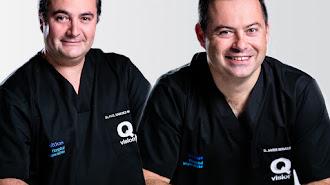Equipo de la unidad de oftalmología de Qvision en Vithas Almería.