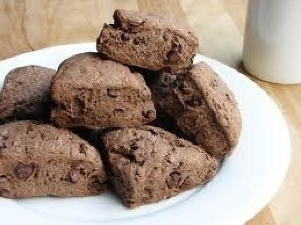 Chocolate Lover's Nutty Fudgey Scones Recipe