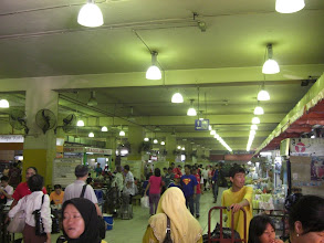 Photo: great market under the crazy bus station