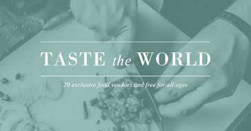 Taste the World - Facebook Event Cover Template