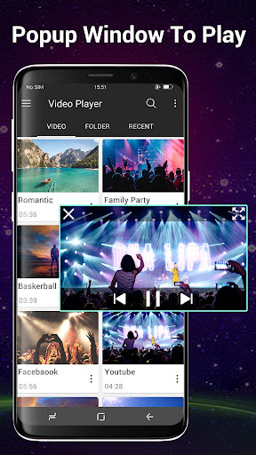 Video Player All Format for Android 1.2.1 screenshots 2