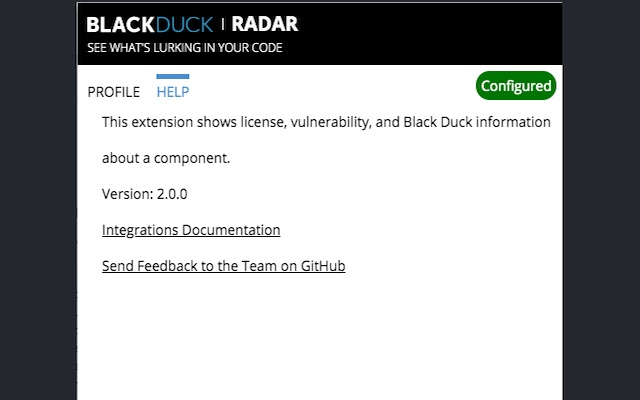 Black Duck Radar