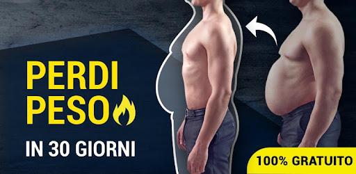 esercizi di perdita di peso uomini