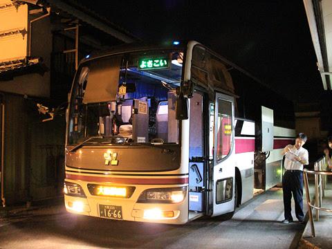 阪急バス「よさこい号」 05-2889 安芸営業所改札中