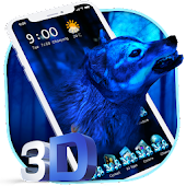 3D Ice Wolf Wallpaper Launcher Android APK Download Free By Wallpaper Launcher 2018