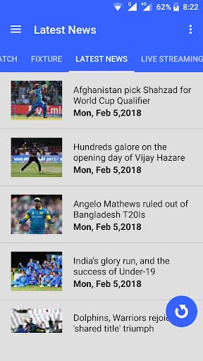 Live Cricket Streaming 1.0 screenshots 4