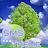 Tree Theme GO SMS logo