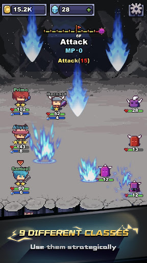 infinite knights - turn-based rpg screenshot 3