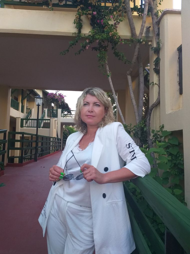 Ольга Харченко, 42 года, заведующая отделением №2 в Харьковской областной инфекционной больнице