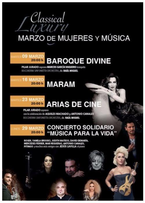 Marzo de Mujeres y Música