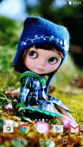 可愛的娃娃 動態壁紙