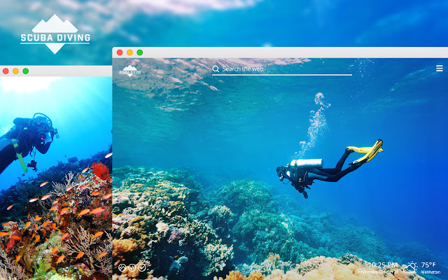 Scuba Diving HD Wallpapers New Tab Theme