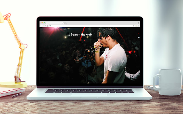AJ Tracey New Tab Music Theme