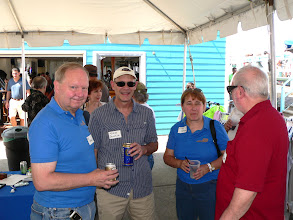 Photo: Bill Hudson, Norm Selheim, Wendy Hudson, Ed Wilkens