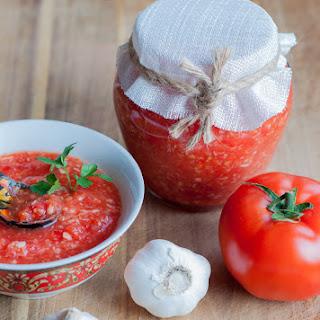 Adjika - Ukrainian horseradish sauce.