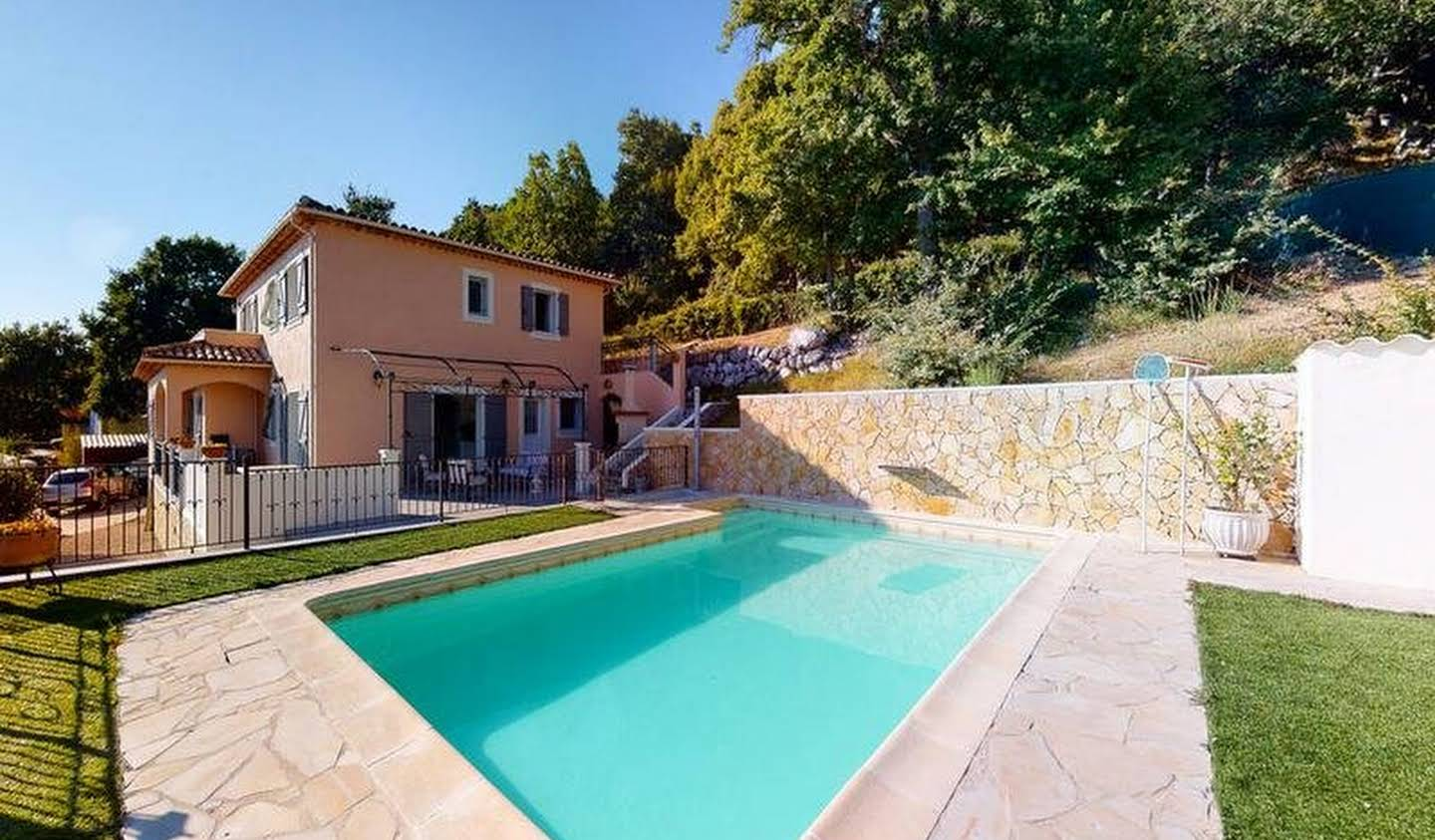House with pool Saint-Vallier-de-Thiey