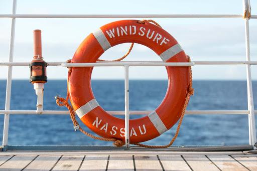 wind-surf-life-preserver.jpg - A life preserver aboard Wind Surf.