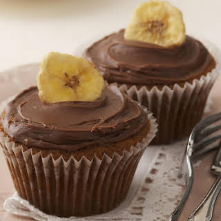 Banana and Chocolate Cupcakes.