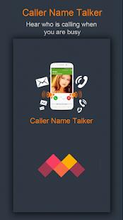 Caller Name Talker - náhled
