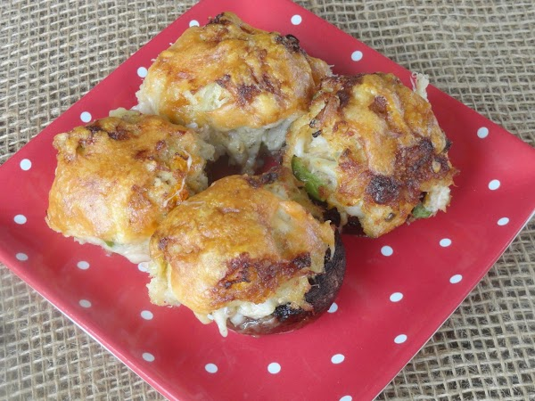 Heavenly Mushrooms Stuffed With Crab Meat Recipe