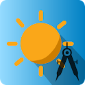 Sun Position Calculator Lite icon