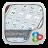 Elegant White GOLauncher Theme mobile app icon