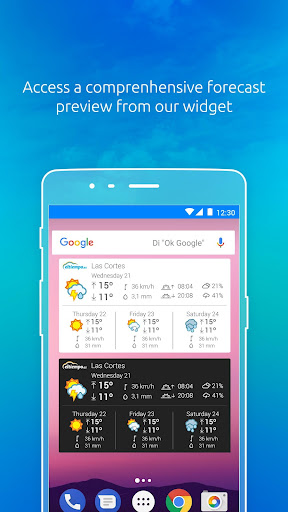 Weather by eltiempo.es