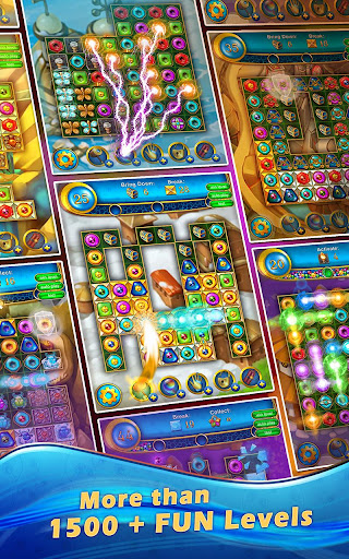 Lost Jewels - Match 3 Puzzle apkpoly screenshots 12