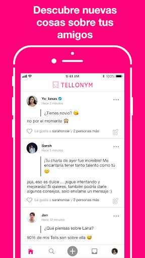 Tellonym: Preguntas y comentarios sinceros screenshot 3