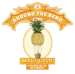 Around The Bend Maui Gold IPA