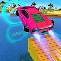 Water Car Surfer Racing 2019: 3D Cars Stunt Games icon